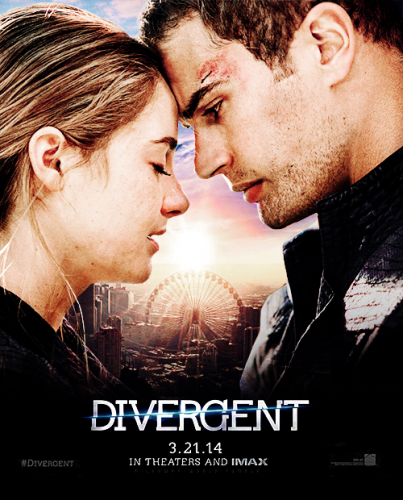 Divergent movie poster Courtesy of divergencedaily.tumblr.com