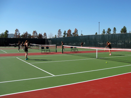 Grossmont Tennis Courts Courtesy of Facilities