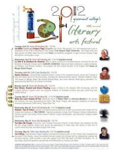 Literary Arts Festival set  April 24-May 3