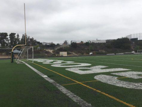 Field before remodel, taken 09/2018.