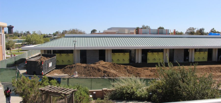 Building 31 under construction.