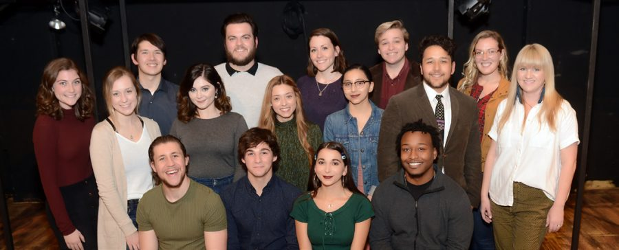 The directors and cast of Spring Awakening.