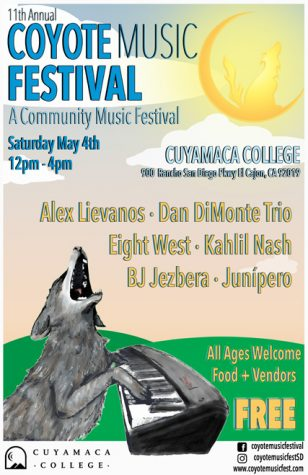 The Cuyamaca Coyote Music Festival