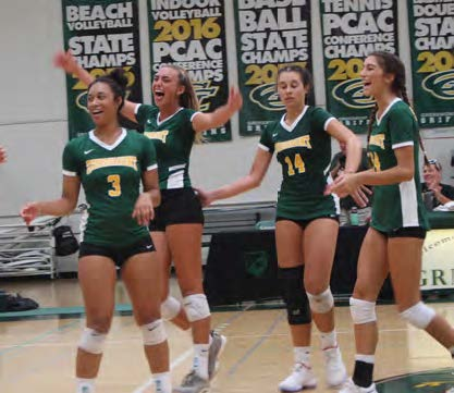 SPRING TO FALL, WOMEN'S VOLLEYBALL STANDS TALL