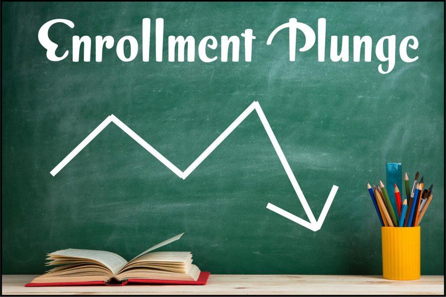 The+Enrollment+Plunge